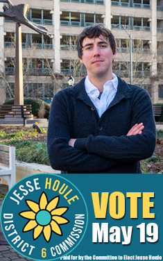 Jesse Houle, candidate for commission district 6