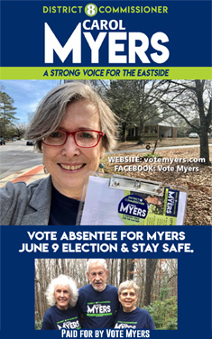 Carol Myers for commission district 8